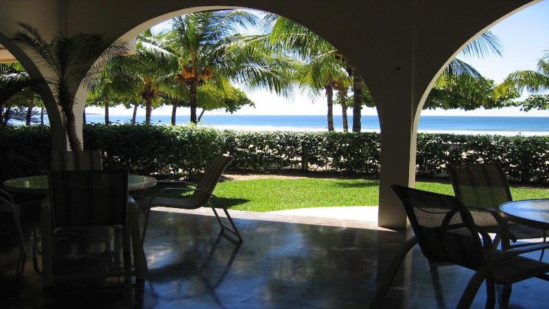 Beach front Terrace - Casa Del Mar - Beach Front Home - **Built Right in - Playa Grande - rentals