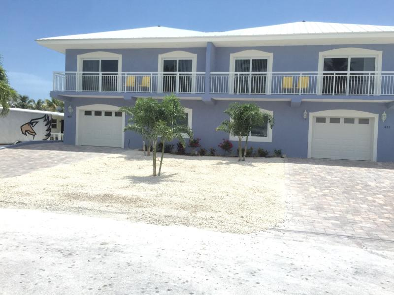 front elevation - New 4 bedroom,4bath in beautiful Key Colony Beach - Key Colony Beach - rentals