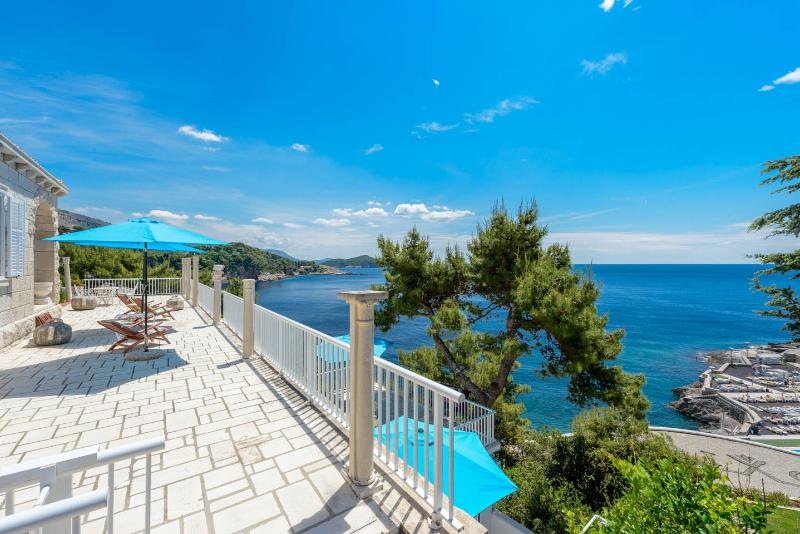 Breathtaking view to Adriatic Sea - Villa Smodlaka-Lawanda - Dubrovnik - rentals
