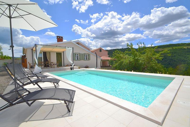 Charming 2 bedroom Villa with pool near Motovun - Image 1 - Vizinada - rentals