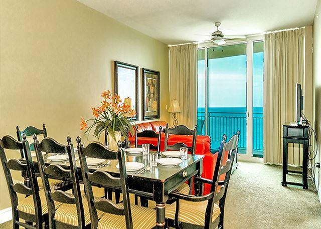 DINING ROOM FOR 6 WITH A GREAT VIEW! - Aqua 1903 - 193920 - Panama City Beach - rentals
