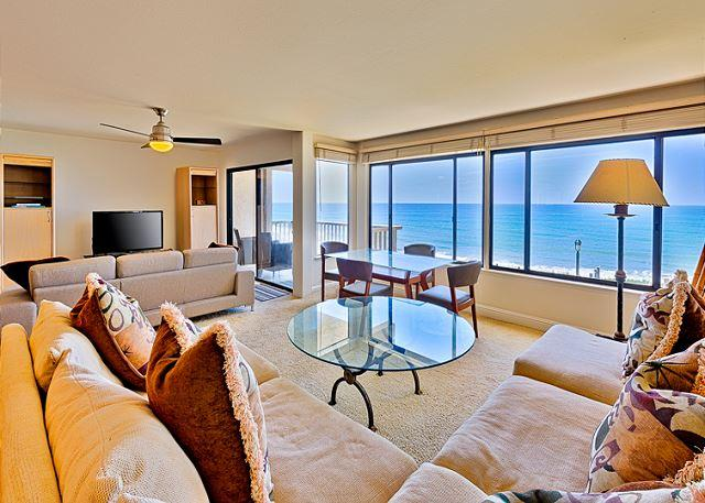 enjoy the magnificent ocean views - Oceanfront condo with whitewater views, pool, spa, and tennis - Solana Beach - rentals
