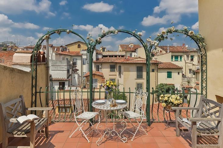 1 Bedroom Apartment at Ricasoli from Windows on Italy - Image 1 - Florence - rentals