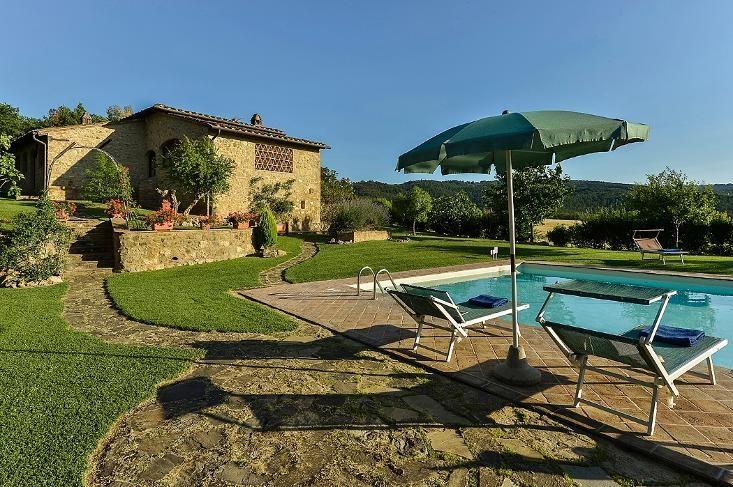 Villa San Gimignano - Image 1 - Pancole - rentals