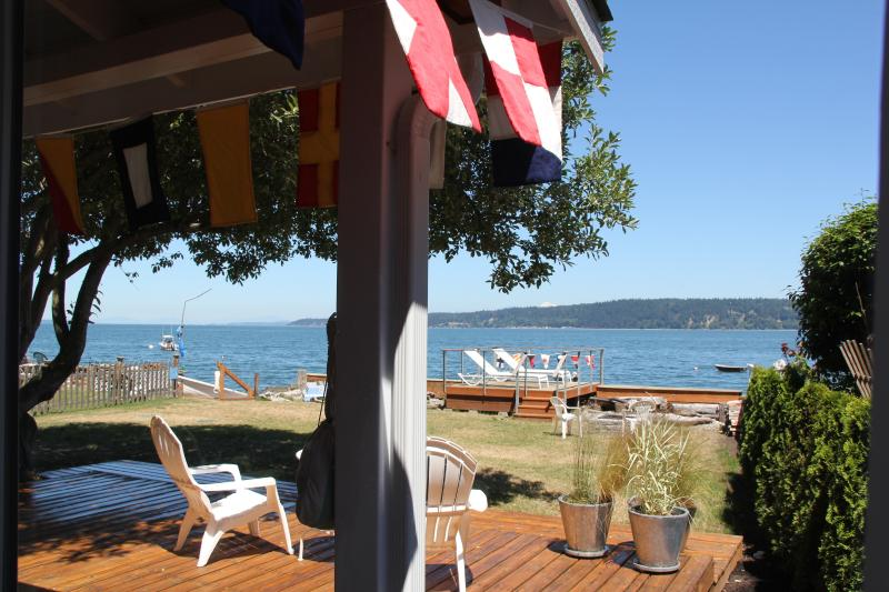 Relaxation on Camano Island! - The Boat House on Camano Island at the waters edge - Camano Island - rentals