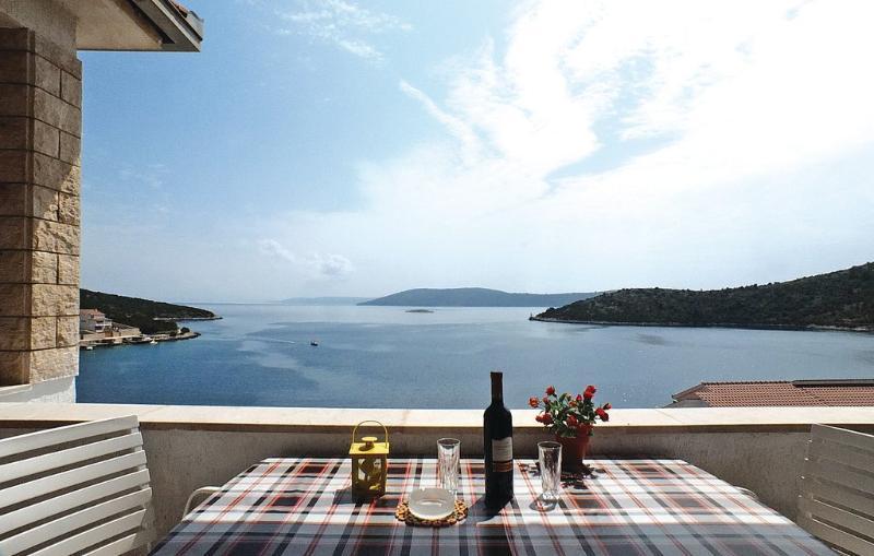 A1(2+2): terrace view - 01207VINI A1(2+2) - Vinisce - Vinisce - rentals