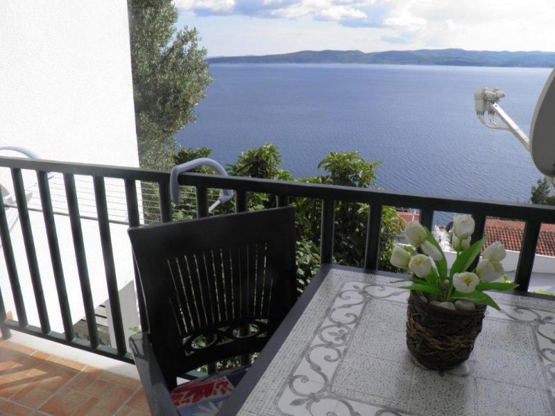 SA5(2): terrace - 00513BREL  SA5(2) - Brela - Brela - rentals
