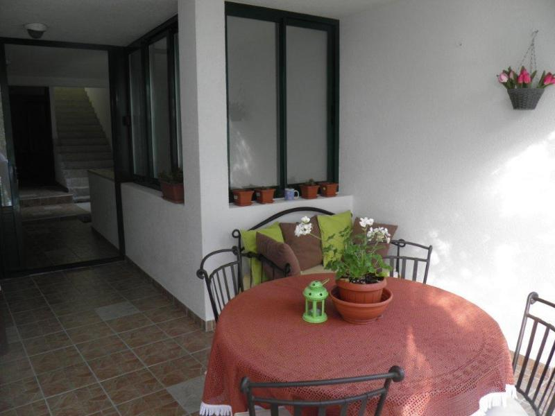 A2(4): terrace - 00513BREL  A2(4) - Brela - Brela - rentals