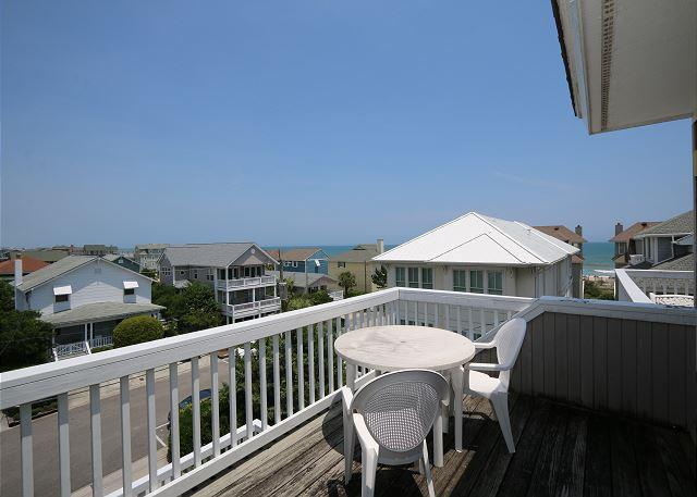 Sims -  Ideal relaxing ocean view townhouse close the ocean and sandy beach - Image 1 - Wrightsville Beach - rentals