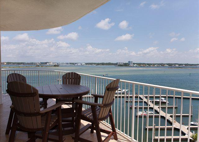Balcony - Caribe C607 - Open Dates: 7/8 to 15 or after 7/28 - Orange Beach - rentals