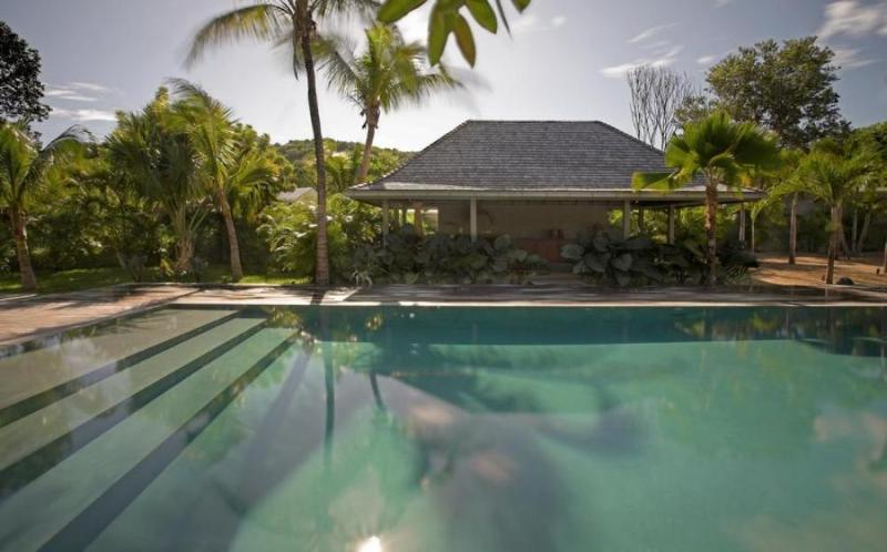 Luxury 5 bedroom St. Barts villa. Private, tropical and a short walk to the beach! - Image 1 - Lorient - rentals
