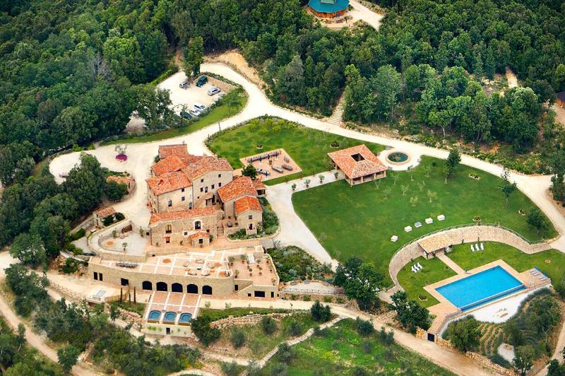 Villa Ferraia, Sleeps 16 - Image 1 - San Lorenzo a Merse - rentals