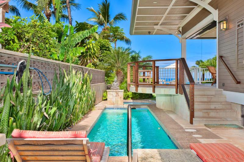 New Lahaina Beachfront Home!! ~ Private Escapes on the Sparkling Blue Pacific!! - Image 1 - Lahaina - rentals