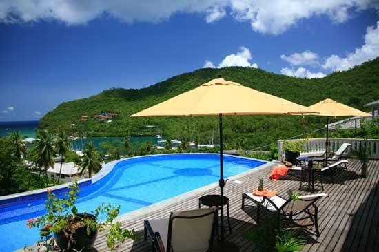Villa Ashiana, Sleeps 6 - Image 1 - Marigot Bay - rentals