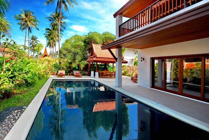 Baan Leelavadee, Sleeps 9 - Image 1 - Koh Samui - rentals