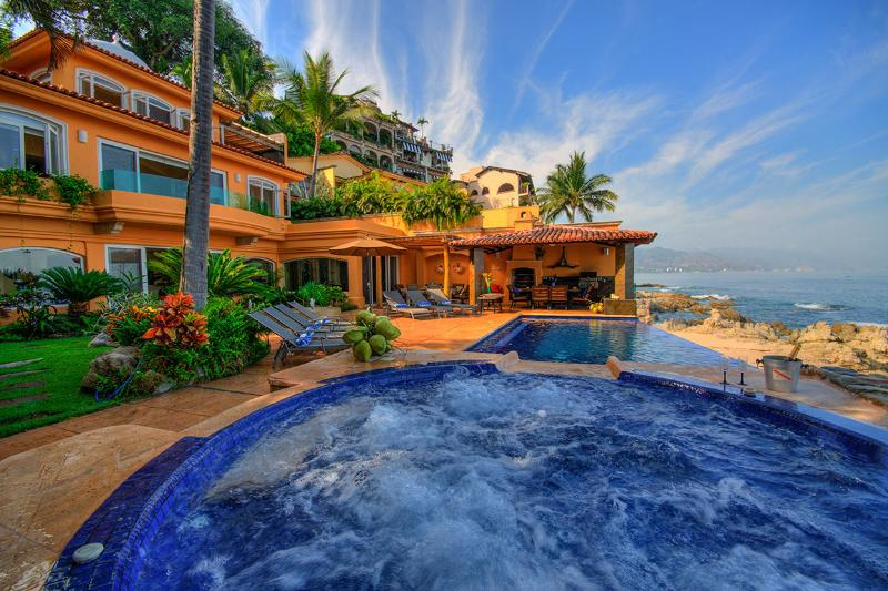 Casa Caleta, Sleeps 12 - Image 1 - Puerto Vallarta - rentals