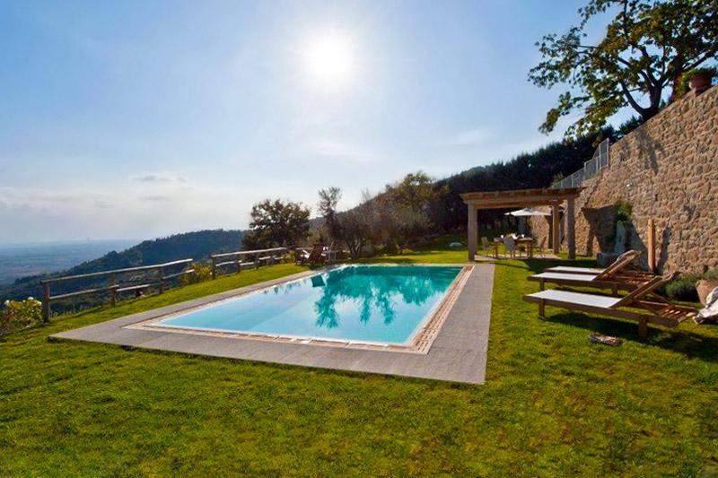 Villa Tegognano, Sleeps 8 - Image 1 - Cortona - rentals
