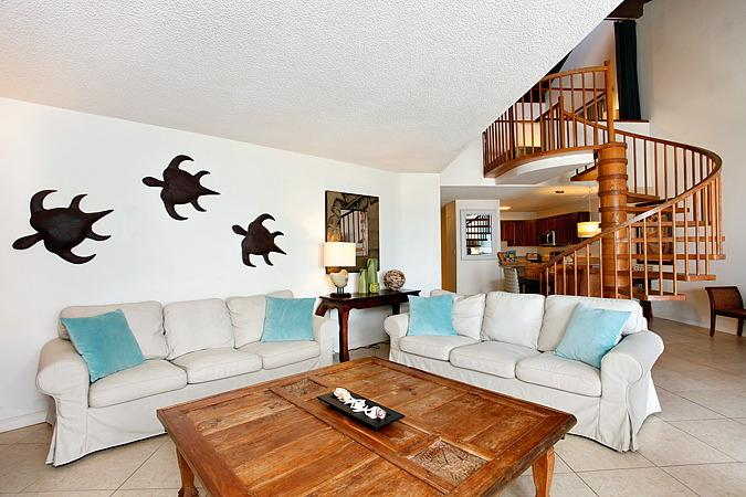 Lots of seating for large groups - SPECIAL! Remodeled Kamaole Sands 3BR Best Location - Kihei - rentals