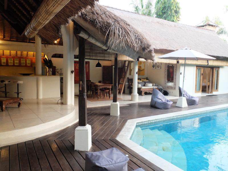 Umah Maya Spacious 3BR Villa, Oberoi, Seminyak - Image 1 - Seminyak - rentals