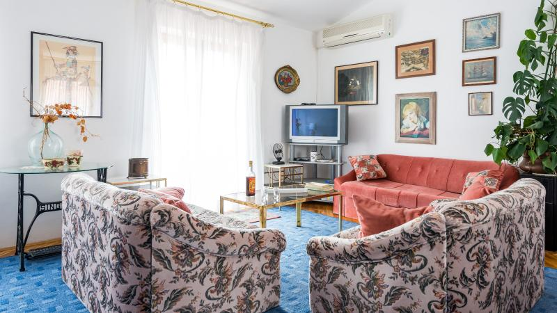 Living room with balcony and a sea view - XXL APARTMENT RIO - Dubrovnik - rentals