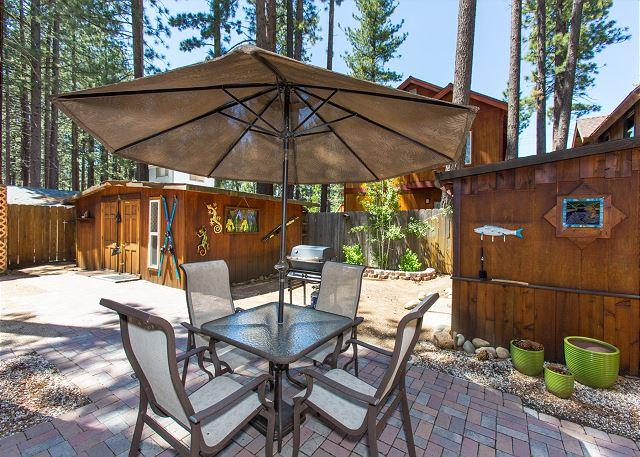 Merced Rear Patio - Great beach cabin - cute and cozy - South Lake Tahoe - rentals