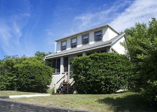 House exterior. - Long Beach House: Large, comfortable home just 285 feet from the white sands! - Gloucester - rentals