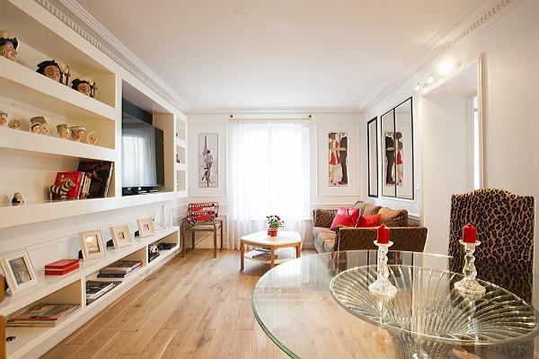 Second floor living room - Saint Germain des Pres - Luxembourg Suite (FREE TRANSPORT) - Paris - rentals