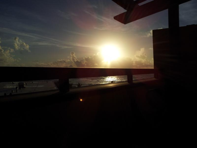 beautiful sunset to enjoy every morning from the patio - 1 or 2  weeks in condo 5 * St. Marteen  seaview - Philipsburg - rentals