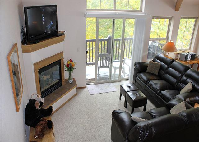 TLB8 Amazing Condo w/Wifi, Common Hot Tub, Mountain Views, Fireplace - Image 1 - Frisco - rentals