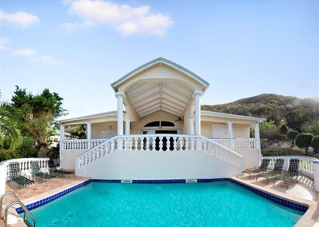 Villa Alexambre - Caribbean style villa overlooking Orient Bay Beach - Image 1 - Saint Martin-Sint Maarten - rentals