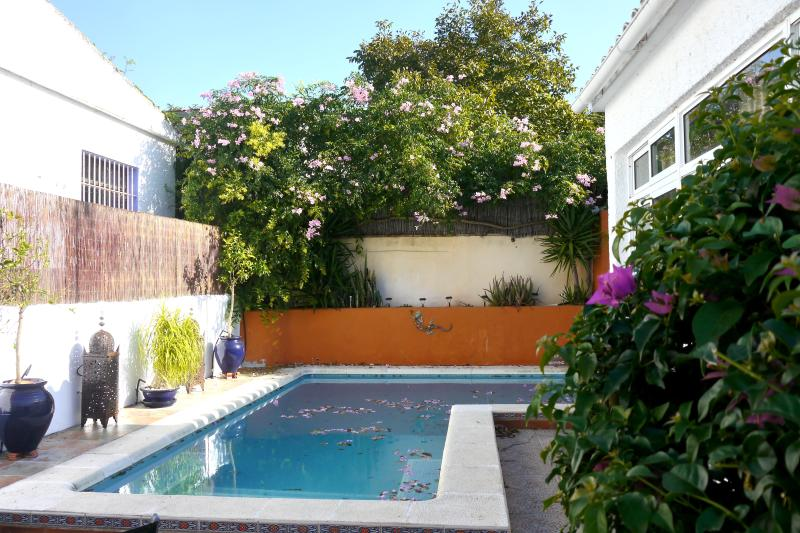 Pool beside house - Casa Sienna Garden Home with Pool - Vejer - rentals