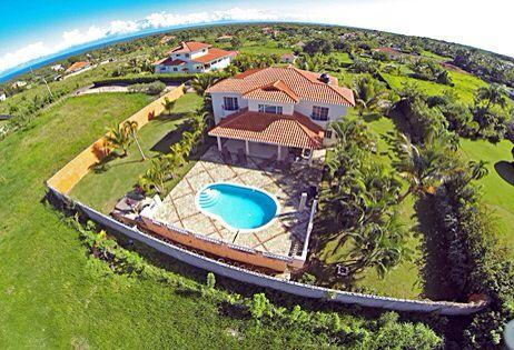 Aerial view - Private Luxury Villa in Private Gated Community - Sosua - rentals