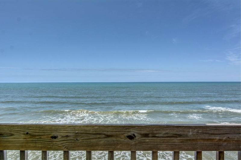 View from Balcony - 2250 New River Inlet Road, Unit 316 - North Topsail Beach - rentals