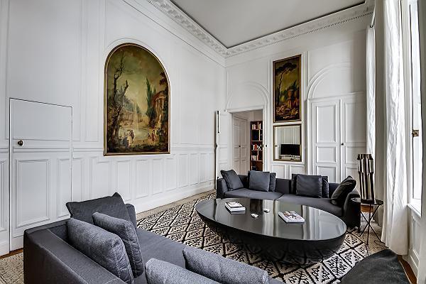 Living Room - Champs Elysées - Tuileries (FREE TRANSPORT) - Paris - rentals