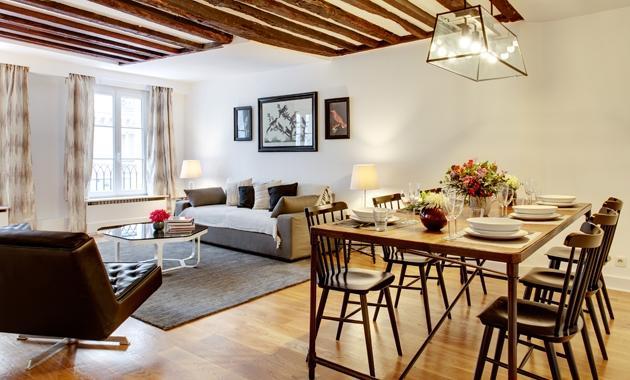 Apartment Pres Paris apartment 6th arrondissement, flat to rent Paris 6th arrondissement, 2 bedroom Paris apartment to let - Image 1 - Paris - rentals