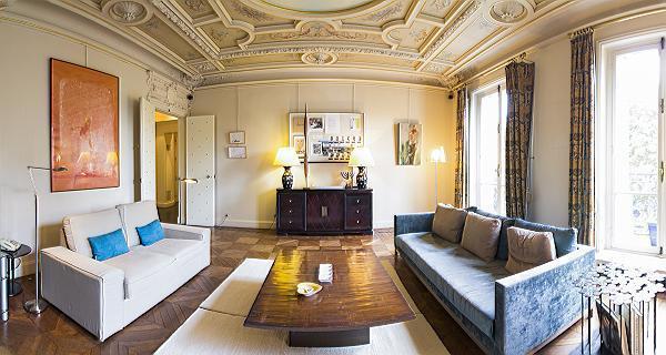 Living Room - Luxembourg Gardens - Guynemer - Paris - rentals