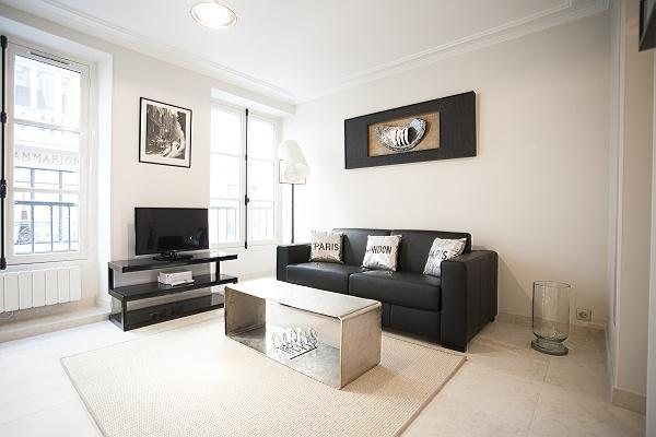 Living Room - Saint Germain des Pres - Prince (FREE TRANSPORT) - Paris - rentals
