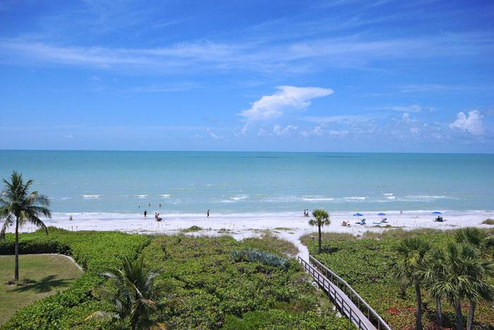 VIEW FROM UNIT - Poinciana 4A - Sanibel Island - rentals