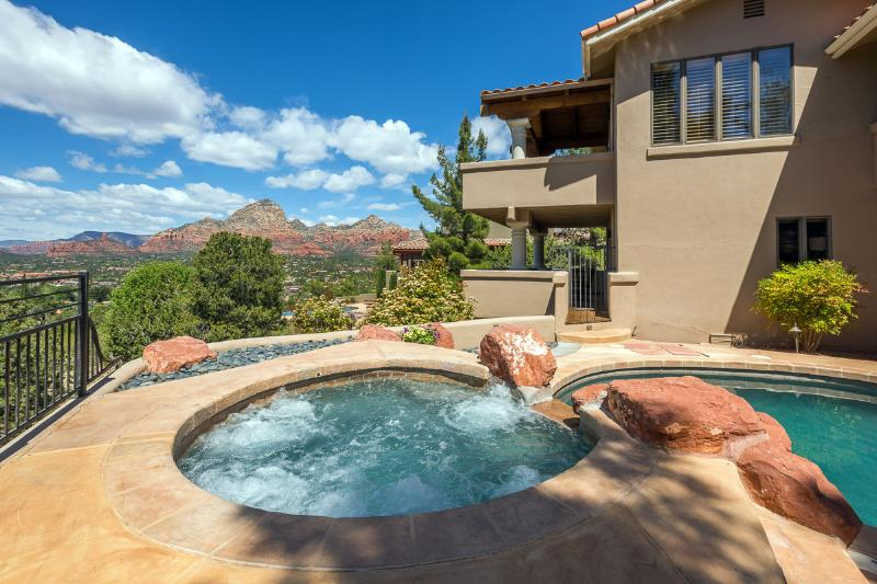 Your own private pool & spa with views - Pool & Spa-Heated-Private-Scenic Red Rock Views - Sedona - rentals