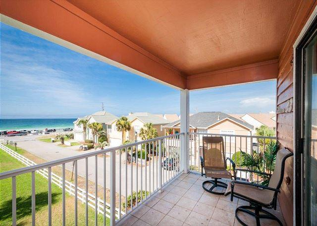 View from the Balcony - Tradewinds #33 Close To Beach! The Perfect Nest For Snowbirds! - Miramar Beach - rentals
