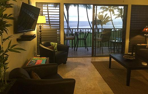 Flat screen TV - Molokai_Shores 231 - Kaunakakai - rentals