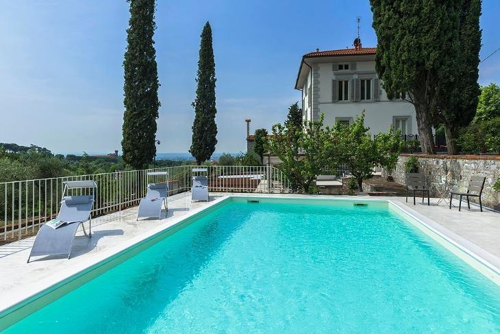 Villa Liberty Montecatini - Image 1 - Montecatini Alto - rentals