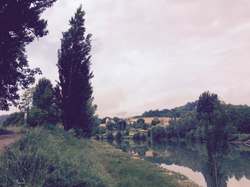 View of the Tiber RIver (Down from house) - Umbertide Townhouse - Umbertide - rentals