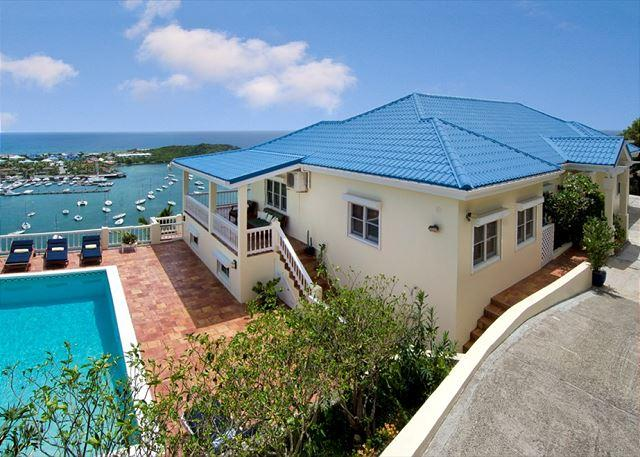 Truly majestic villa - Majestic View 5 bedr with a panoramic view of St. Barth | Island Properties - Saint Martin-Sint Maarten - rentals