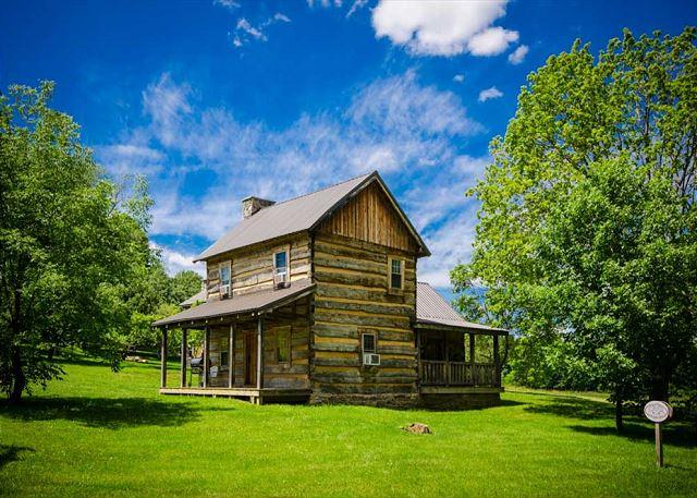 OVR's Orndorff Cabin-AUTHENTIC,Primitive &cozy CABIN in the MOUNTAINS OF PA!! - Image 1 - Ohiopyle - rentals