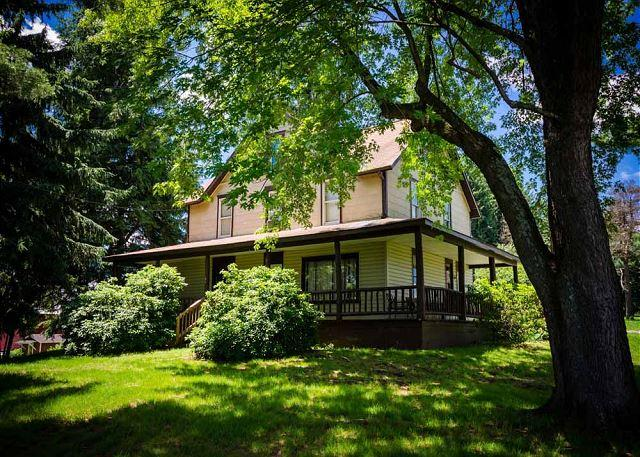 Beautiful Trees Throughout the Property - OVR'S Marietta House-1920's Farm House w/ Scenic Views of Sugarloaf Mountain! - Ohiopyle - rentals