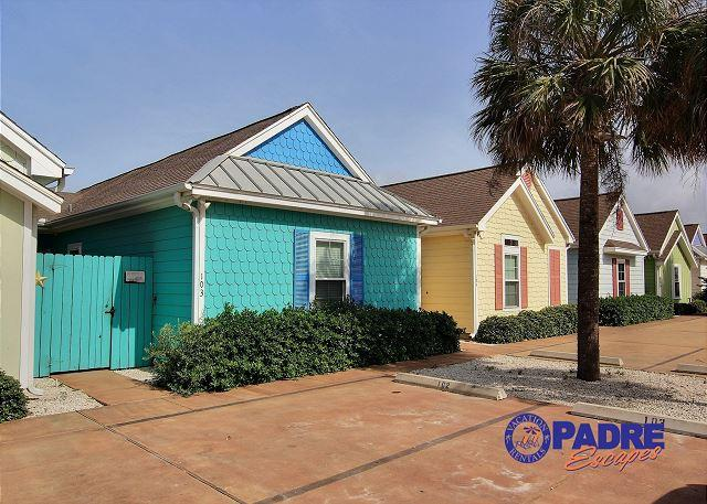 Front of unit - Come enjoy this sweet Key West style Cottage known as the Sugar Shack - Corpus Christi - rentals