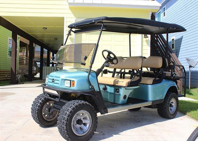 Free Golf Cart - Serendipity: New Home, Private Pool, Close to Beach, FREE 6 SEAT GOLF CART - Port Aransas - rentals