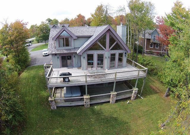 Exterior - Fabulous 4 Bedroom luxury ski in/ ski out home with hot tub! - McHenry - rentals