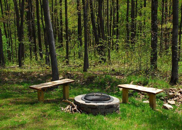 Elegant & Stylish 3 Bedroom Log Cabin with bubbling outdoor hot tub! - Image 1 - McHenry - rentals